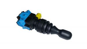 Przełącznik joystick 2 pozycje (ON)-OFF-(ON) monostabilny 10A 250V 22mm