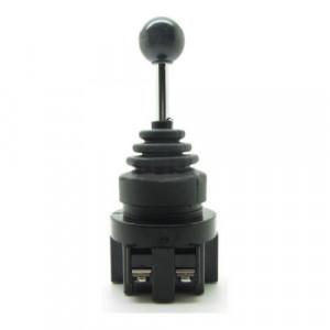 Przełącznik joystick 4 pozycje 2x (ON)-OFF-(ON) monostabilny 10A 250V 30mm
