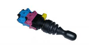Przełącznik joystick 4 pozycje 2x(ON)-OFF-(ON) monostabilny 10A 250V 22mm