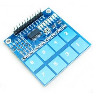 Moduł klawiatury dotykowej 8 przycisków
