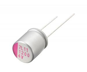 Kondensator polimerowy 100uF/16V 8x8mm opak=100 szt
