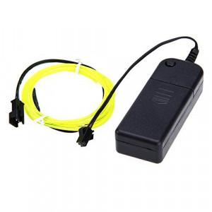 Neon elastyczny 3m Żółty + sterownik
