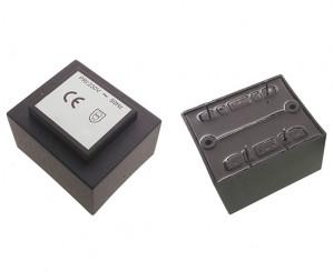 Transformator zalewany 10VA 230V/2x12V 2x417mA