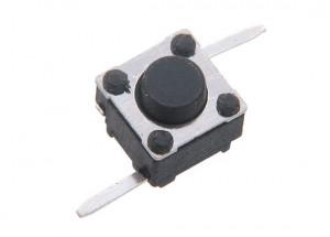 Tact Switch 6x6mm h=5mm 2pin opak=100 szt T2