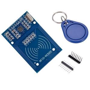 Moduł czytnika RFID + karta + brelok