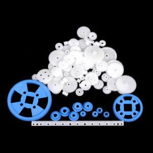 Zestaw kół zębatych plastikowych 61szt