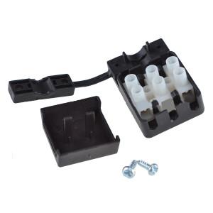 Kostka elektryczna 3 PIN 10A 405V w obudowie