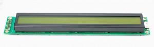 Wyświetlacz LCD 2x40 182x33 zielone podświetlenie