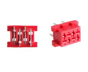 Micro-match gniazdo PCB 4PIN opak=100 szt