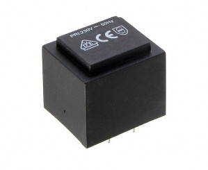 Transformator zalewany 2.5VA 230V/9V 278mA