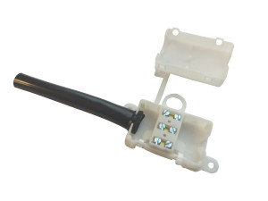 Kostka elektryczna 3PIN 10A w obudowie z odgiętką