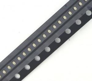 Dioda LED SMD 0402 Żółta s. jasna 150mcd opak=100 szt
