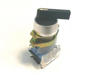 Przełącznik obrotowy ON-OFF-ON 10A/600V