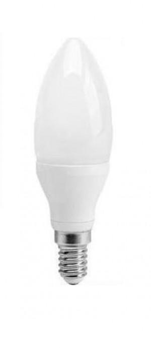 Żarówka ECO LED 5W świeczka (odp. 40W) E14 biały ciepły 3000K