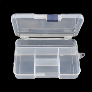Organizer 5 przegródek 14.5x9.8x3.3cm OR19
