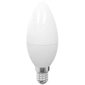Żarówka ECO LED 7W świeczka (odp. 50W) E14 biały ciepły 3000K