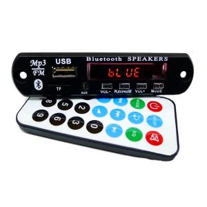 Moduł odtwarzacza MP3 z USB, kartą microSD,bluetooth, zestaw głośnoimówiący