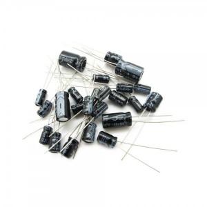 Zestaw 120 szt kondensatorów elektrolitycznych Typ2