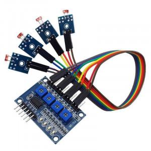 Czterokanałowy czujnik natężenia światła do Arduino