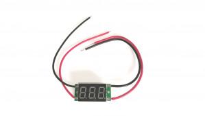 Amperomierz LED 12V 10A Zielony