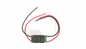 Amperomierz LED 12V 20A Czerwony