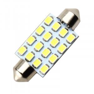 Żarówka LED 12V C5W 0.7W Biała 16x41mm