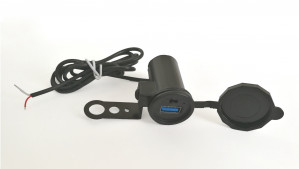 Gniazdo USB/przetwornica 12-24V/5V 2A