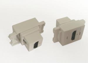 Gniazdo HDMI montowane do obudowy