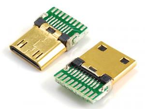 Wtyk mini HDMI na kabel HD6
