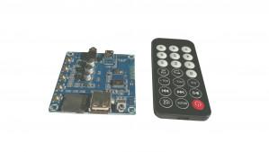 Moduł odtwarzacza MP3 z USB, kartą microSD,bluetooth, zestaw głośnoimówiący, radio FM