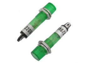 Kontrolka 12VAC zielona