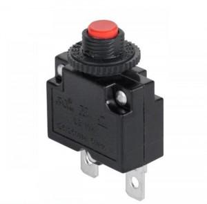 Wyłącznik nadprądowy bimetaliczny MR1 2A 250V