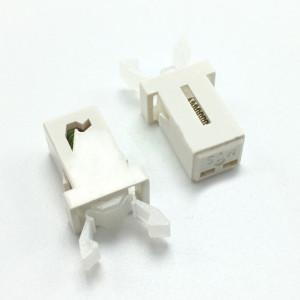 Zatrzask/zamek do klapek CD/TV biały