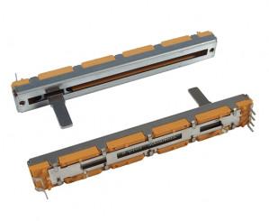 Potencjometr suwakowy 10K Ohm B (liniowy) l=60mm 0.1W