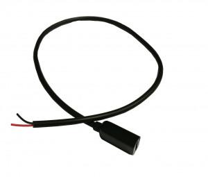 Gniazdo micro USB B z przewodem 30cm 2pin