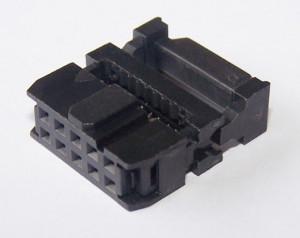 Gniazdo IDC 10 pin zaciskane na taśme opak=100 szt (pakowane na paletkach)