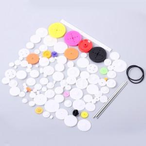 Zestaw kół zębatych plastikowych 106szt