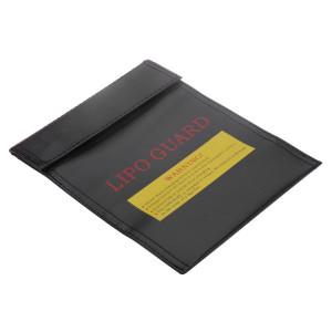 Torba do akumulatorów Li-Poly 18x23cm czarna