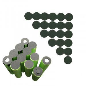 Podkładka izolująca pełna na 2 akumulatory 18650