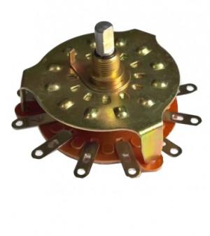 Przełącznik obrotowy 1 obwód 11 pozycji RBS-2