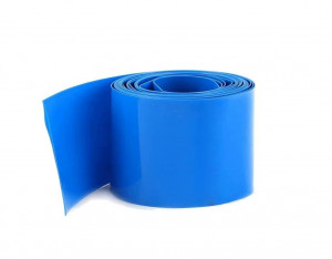 Folia termokurczliwa 25mm, długość 20mb niebieska