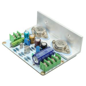 Wzmacniacz audio 15W 2N3055 lewy kanał