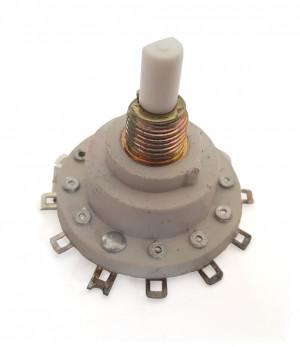 Przełącznik obrotowy 1 obwód 11 pozycji h=35mm