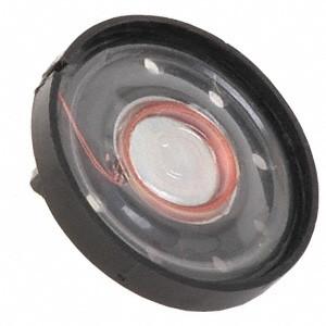 Głośnik YD27-08 0.25W 16 Ohm h=8mm membrana plastikowa