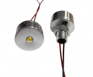 Lampka LED 5V biała 1W 24mm h=12mm