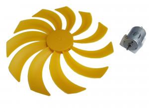 Mini elektrownia wiatrowa 17cm