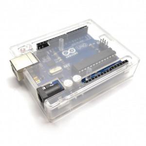 Obudowa Clear do modułu Arduino UNO typ2