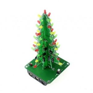Choinka LED 5V 3D + koszyk (KIT- do samodzielnego złożenia)