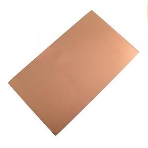 Laminat 17x27cm grub=1.6mm 1-stronny biały