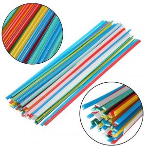 Zestaw 19szt różnych spoiw do spawania plastiku o długości 50cm